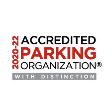 2017-2020 Accredited Parking Organization with Distinction